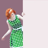 Redheaded girl Stock Photography