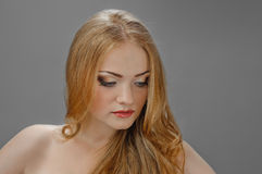 Redheaded picture of beauty Royalty Free Stock Images