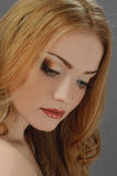 Redheaded picture of beauty Stock Photo