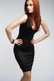 Redheadmädchen Stockfotos