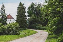 RediÄ£Ä «τ οι συστροφές πορειών Στοκ φωτογραφία με δικαίωμα ελεύθερης χρήσης