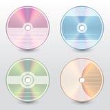 Redigerbara och customizable disketträkningar Arkivfoto