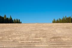 Redipuglia, μνημείο Πρώτου Παγκόσμιου Πολέμου και νεκροταφείο Στοκ εικόνα με δικαίωμα ελεύθερης χρήσης