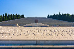 Redipuglia - Italian World War I memorial Royalty Free Stock Photos
