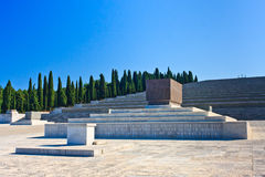 Redipuglia - Italian World War I memorial Stock Image