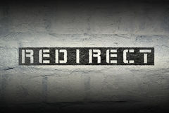Redirect WORD GR Royalty Free Stock Image