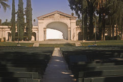 Redlands Bowl. This is a picture of the public outdoor ampitheater, the Redlands Bowl Stock Photos