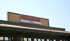 Redlands-Grill, Bartlettbirne, TN stockbild