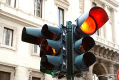 Redlight in Roma Royalty Free Stock Photos