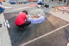 Redmond Chalkfest Event 5 arkivfoto