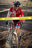 Redmond Golf Cross Cyclo-Cross Race - Amy VanTassel Royalty Free Stock Photo