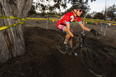 Redmond Golf Cross Cyclo-Cross Race - Amy VanTassel Royalty Free Stock Image