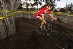 Redmond Golf Cross Cyclo-Cross Race - Amy VanTassel Royalty Free Stock Image