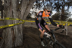 Redmond Golf Cross Cyclo-Cross Race - Barry Wicks Royalty Free Stock Images