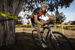 Redmond Golf Cross Cyclo-Cross Race Royalty Free Stock Photo