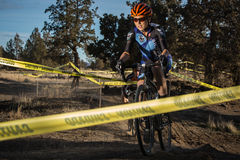 Redmond Golf Cross Cyclo-Cross Race Stock Images