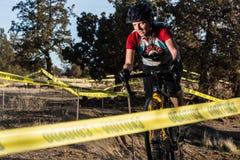 Redmond Golf Cross Cyclo-Cross Race Royalty Free Stock Photography