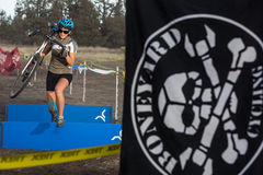 Redmond Golf Cross Cyclo-Cross Race Royalty Free Stock Photography