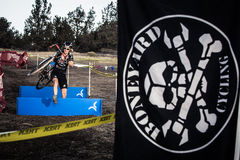 Redmond Golf Cross Cyclo-Cross Race Royalty Free Stock Images
