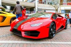 Redmond, WA - 29 de abril de 2017: Feira automóvel exótica em Redmond Town Center Imagens de Stock