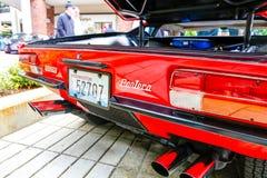 Redmond, WA - 29 de abril de 2017: Feira automóvel exótica em Redmond Town Center Fotografia de Stock Royalty Free
