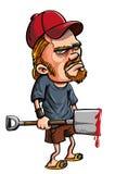Redneck spade kiler Stock Photo