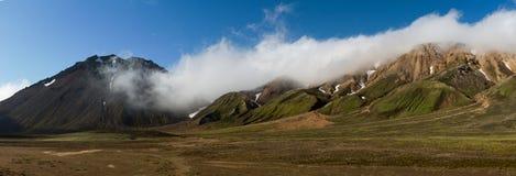 Średniogórza Iceland Fotografia Stock