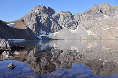 średniogórza jeziorni obrazy stock