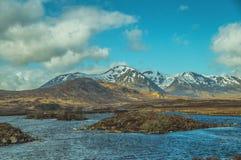 Średniogórza Szkocja Fotografia Royalty Free