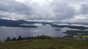 średniogórza szkockich obrazy stock
