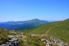 Średniogórze w park narodowy obraz royalty free