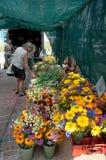 średniorolnych kwiatów targowi s veggies Zdjęcie Stock