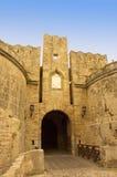 średniowieczna bramy Zdjęcie Royalty Free