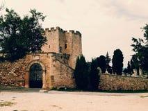 Średniowieczna budowa Zdjęcia Royalty Free