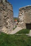 Średniowieczna cytadela Rupea 1324, Brasov, Transylvania, Rumunia Obrazy Stock