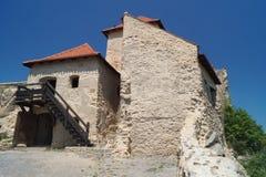 Średniowieczna cytadela Rupea 1324, Brasov, Transylvania, Rumunia Zdjęcie Royalty Free