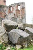 średniowieczna grodowa ruina Obrazy Stock