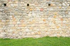 średniowieczna grodowa tekstura Zdjęcie Stock