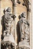 Średniowieczna katedra w Anrwerp Obraz Royalty Free