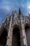średniowieczna katedry Obrazy Royalty Free