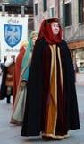 średniowieczna kobieta Zdjęcie Royalty Free