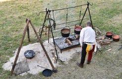 Średniowieczna kuchnia 2 Zdjęcia Stock