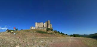 średniowieczna panorama Zdjęcia Royalty Free