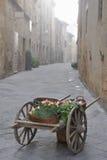 średniowieczna rynek scena Zdjęcie Royalty Free