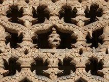 Średniowieczna sztuka przy Batalha monasterem Zdjęcia Stock