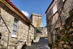 średniowieczna ulica Zdjęcia Royalty Free