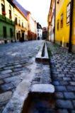 Średniowieczna ulica Zdjęcia Stock