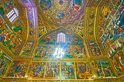 Średniowieczna Vank katedra, Isfahan, Iran Fotografia Stock