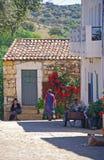Średniowieczna wioska Idanha-a-Velha, Portugalia Zdjęcia Royalty Free