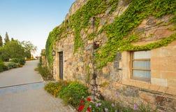 Średniowiecznego grka wioska blisko Monemvasia Obrazy Royalty Free